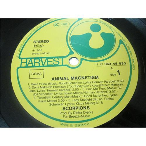Картинка  Виниловые пластинки  Scorpions – Animal Magnetism / 064-45 933 в  Vinyl Play магазин LP и CD   02777 4