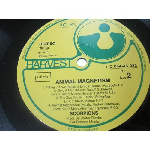 Картинка  Виниловые пластинки  Scorpions – Animal Magnetism / 064-45 933 в  Vinyl Play магазин LP и CD   02777 5