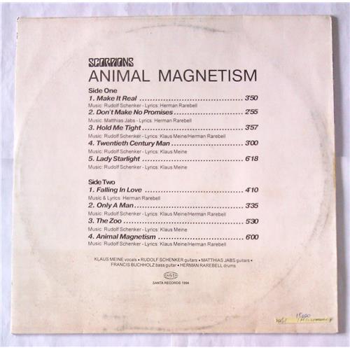 Картинка  Виниловые пластинки  Scorpions – Animal Magnetism / П93-00617.18 / M (С хранения) в  Vinyl Play магазин LP и CD   06622 1