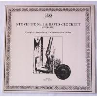 Stovepipe No.1 & David Crockett – Complete Recordings In Chronological Order (1924-1930) / BD-2019