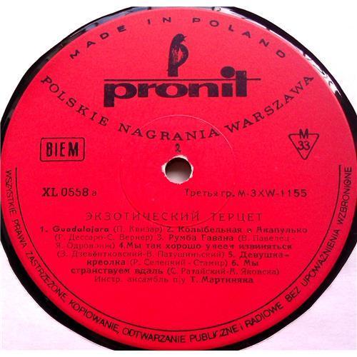 Картинка  Виниловые пластинки  Tercet Egzotyczny – Tercet Egzotyczny (3) / XL 0558 в  Vinyl Play магазин LP и CD   06552 2