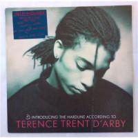 Terence Trent D'Arby – Introducing The Hardline According To Terence Trent D'Arby / CBS 450911 1