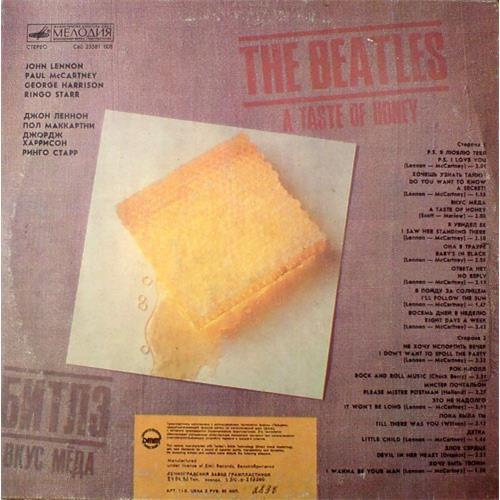 Картинка  Виниловые пластинки  The Beatles – A Taste Of Honey / C60 23581 008 в  Vinyl Play магазин LP и CD   01170 1