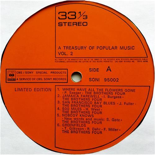 Картинка  Виниловые пластинки  The Brothers Four – A Treasury Of Popular Music Vol. 2 / SONI 95002 в  Vinyl Play магазин LP и CD   07520 2
