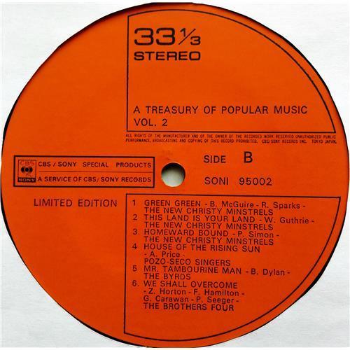 Картинка  Виниловые пластинки  The Brothers Four – A Treasury Of Popular Music Vol. 2 / SONI 95002 в  Vinyl Play магазин LP и CD   07520 3