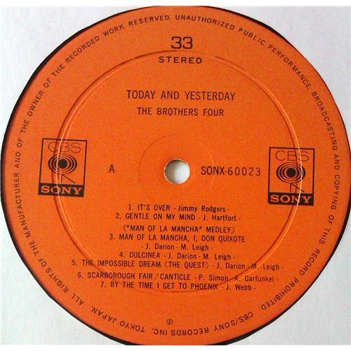 Картинка  Виниловые пластинки  The Brothers Four – Today And Yesterday / SONX 60023 в  Vinyl Play магазин LP и CD   05583 6