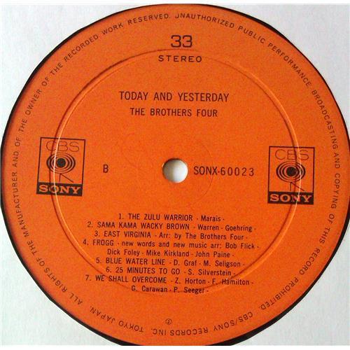 Картинка  Виниловые пластинки  The Brothers Four – Today And Yesterday / SONX 60023 в  Vinyl Play магазин LP и CD   05583 7