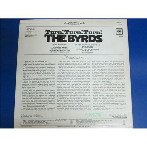 Картинка  Виниловые пластинки  The Byrds – Turn! Turn! Turn! / CL 2454 в  Vinyl Play магазин LP и CD   04151 1