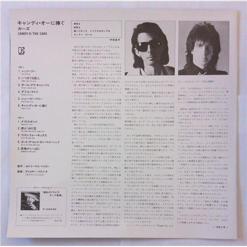 Картинка  Виниловые пластинки  The Cars – Candy-O / P-10672E в  Vinyl Play магазин LP и CD   04807 2