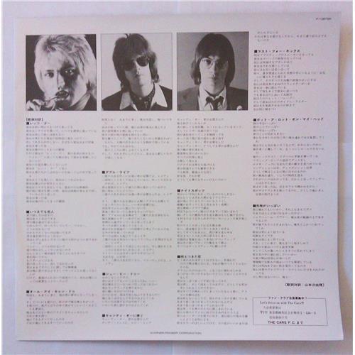 Картинка  Виниловые пластинки  The Cars – Candy-O / P-10672E в  Vinyl Play магазин LP и CD   04807 3