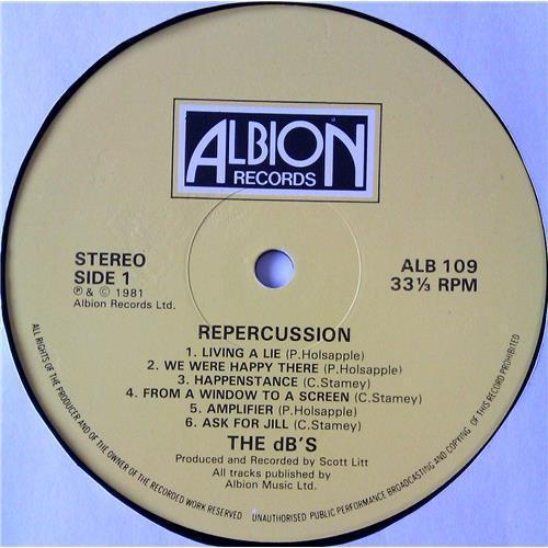 Картинка  Виниловые пластинки  The dB's – Repercussion / ALB 109 в  Vinyl Play магазин LP и CD   05019 2