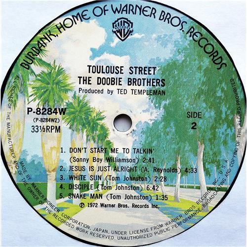 Картинка  Виниловые пластинки  The Doobie Brothers – Toulouse Street / P-8284W в  Vinyl Play магазин LP и CD   07681 7