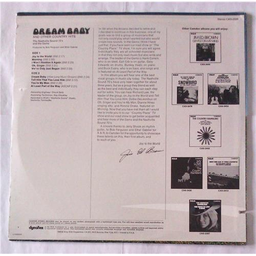 Картинка  Виниловые пластинки  The Nashville Sound 70's And The Gems – Dream Baby And Other Country Hits / CAS-2526 / Sealed в  Vinyl Play магазин LP и CD   06180 1