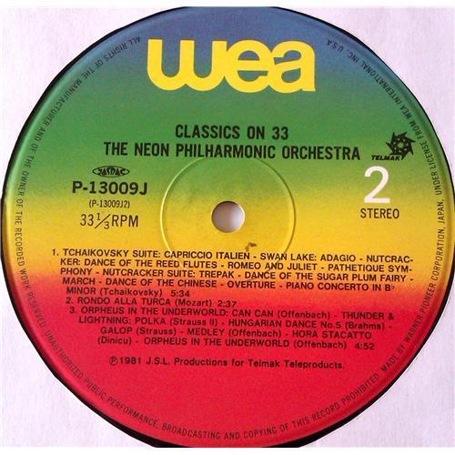 Картинка  Виниловые пластинки  The Neon Philharmonic Orchestra – Classics On 33 / P-13009J в  Vinyl Play магазин LP и CD   06860 3