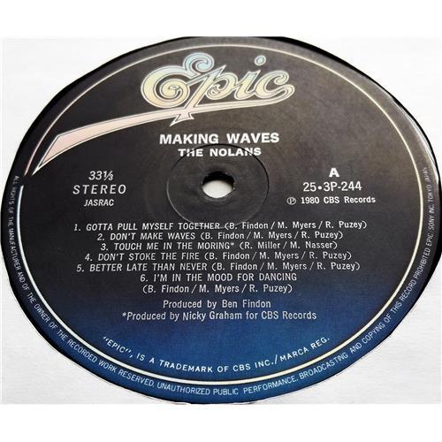 Картинка  Виниловые пластинки  The Nolans – Making Waves / 25-3P-244 в  Vinyl Play магазин LP и CD   07595 4