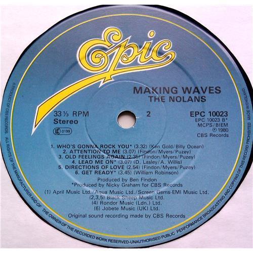 Картинка  Виниловые пластинки  The Nolans – Making Waves / EPC 10023 в  Vinyl Play магазин LP и CD   06568 3