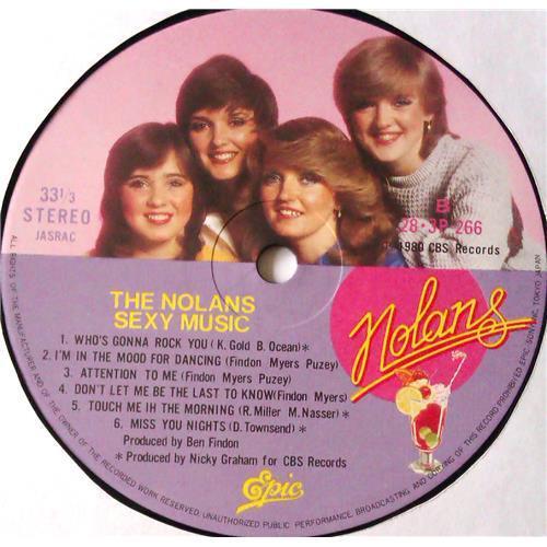 Картинка  Виниловые пластинки  The Nolans – Sexy Music / 28-3P-266 в  Vinyl Play магазин LP и CD   05457 8