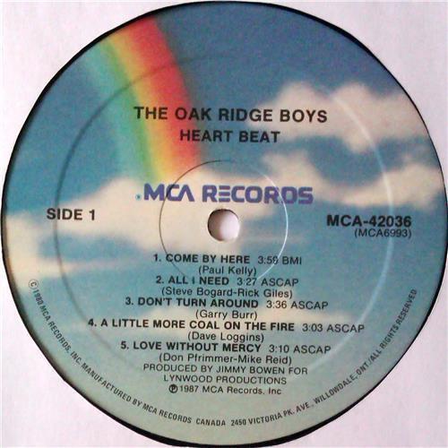 Картинка  Виниловые пластинки  The Oak Ridge Boys – Heartbeat / MCA-42036 в  Vinyl Play магазин LP и CD   04812 2