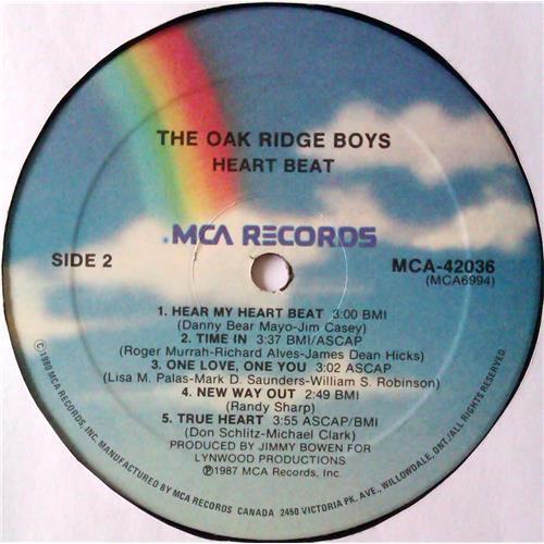 Картинка  Виниловые пластинки  The Oak Ridge Boys – Heartbeat / MCA-42036 в  Vinyl Play магазин LP и CD   04812 3