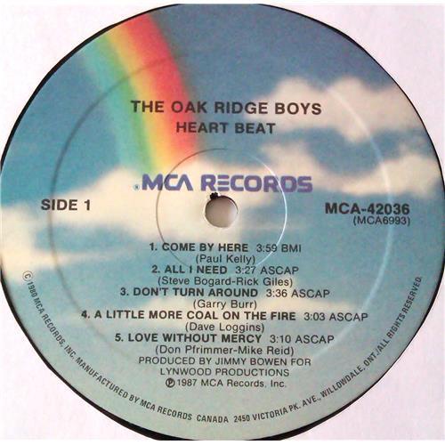 Картинка  Виниловые пластинки  The Oak Ridge Boys – Heartbeat / MCA-42036 в  Vinyl Play магазин LP и CD   07000 2