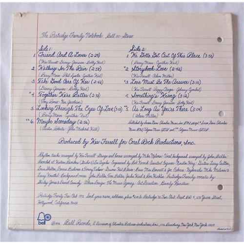 Картинка  Виниловые пластинки  The Partridge Family – The Partridge Family Notebook / BELL 1111 / Sealed в  Vinyl Play магазин LP и CD   06116 1