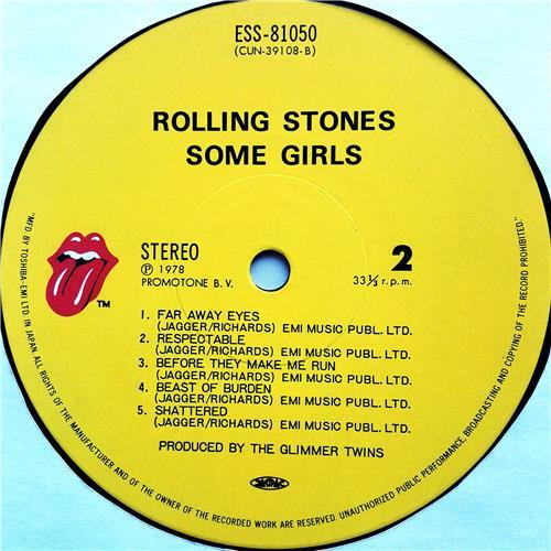 Картинка  Виниловые пластинки  The Rolling Stones – Some Girls / ESS-81050 в  Vinyl Play магазин LP и CD   07592 7