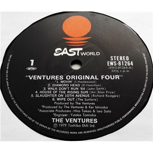 Картинка  Виниловые пластинки  The Ventures – Ventures Original Four / EWS-81264 в  Vinyl Play магазин LP и CD   07379 3