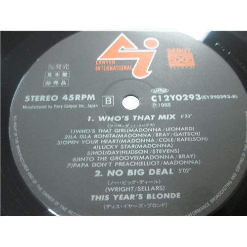 Картинка  Виниловые пластинки  This Year's Blonde – Who's That Mix /  C12Y0293 в  Vinyl Play магазин LP и CD   03108 3