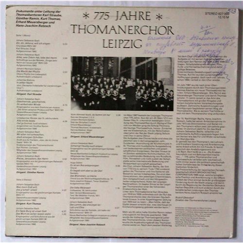 Картинка  Виниловые пластинки  Thomanerchor – 775 Jahre Thomanerchor Leipzig / 827 999 в  Vinyl Play магазин LP и CD   03555 1