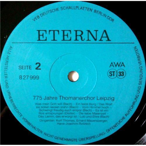 Картинка  Виниловые пластинки  Thomanerchor – 775 Jahre Thomanerchor Leipzig / 827 999 в  Vinyl Play магазин LP и CD   03555 3