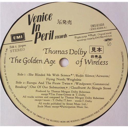Картинка  Виниловые пластинки  Thomas Dolby – The Golden Age Of Wireless / EMS-81604 в  Vinyl Play магазин LP и CD   05566 3