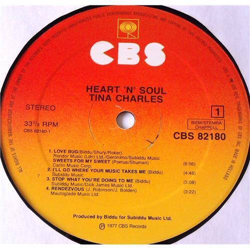 Картинка  Виниловые пластинки  Tina Charles – Heart 'N' Soul / CBS 82180 в  Vinyl Play магазин LP и CD   05918 2