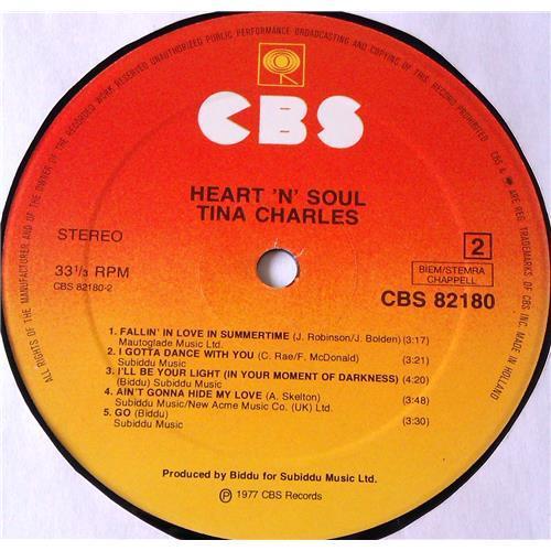 Картинка  Виниловые пластинки  Tina Charles – Heart 'N' Soul / CBS 82180 в  Vinyl Play магазин LP и CD   05918 3