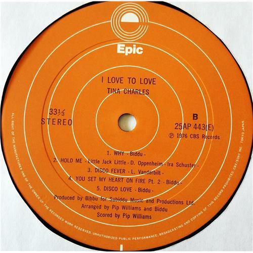 Картинка  Виниловые пластинки  Tina Charles – I Love To Love / 25AP 443 в  Vinyl Play магазин LP и CD   07674 5