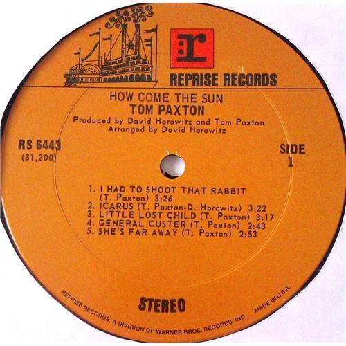 Картинка  Виниловые пластинки  Tom Paxton – How Come The Sun / RS 6443 в  Vinyl Play магазин LP и CD   06166 2
