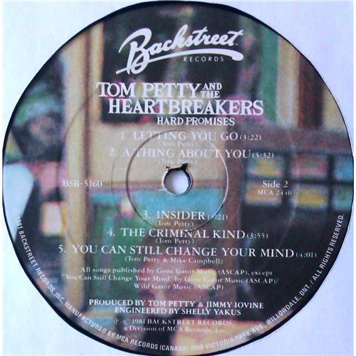 Картинка  Виниловые пластинки  Tom Petty And The Heartbreakers – Hard Promises / BSR-5160 в  Vinyl Play магазин LP и CD   04910 5