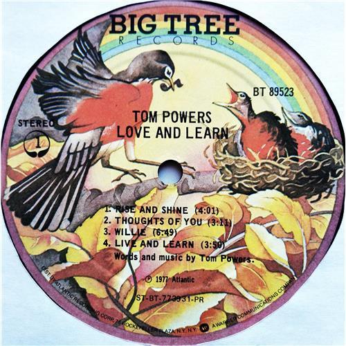 Картинка  Виниловые пластинки  Tom Powers – Love And Learn / BT 89523 в  Vinyl Play магазин LP и CD   07282 4