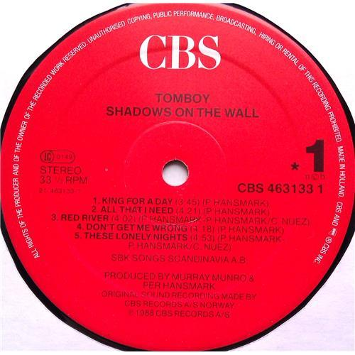 Картинка  Виниловые пластинки  Tomboy – Shadows On The Wall / CBS 463133 1 в  Vinyl Play магазин LP и CD   06017 4