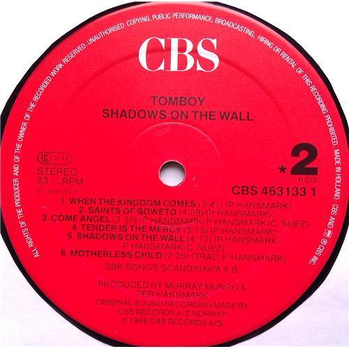Картинка  Виниловые пластинки  Tomboy – Shadows On The Wall / CBS 463133 1 в  Vinyl Play магазин LP и CD   06017 5