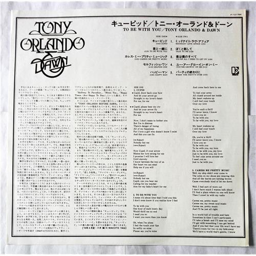 Картинка  Виниловые пластинки  Tony Orlando & Dawn – To Be With You / P-10179E в  Vinyl Play магазин LP и CD   07712 2