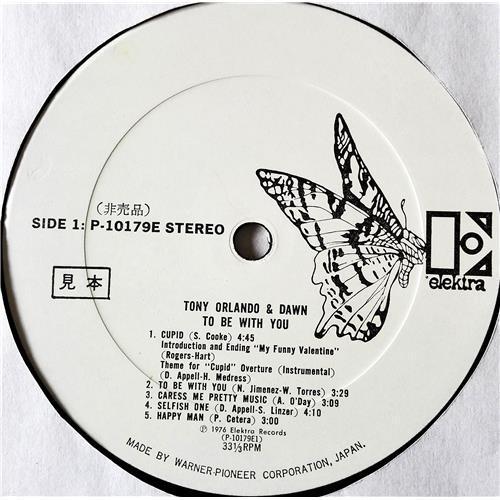 Картинка  Виниловые пластинки  Tony Orlando & Dawn – To Be With You / P-10179E в  Vinyl Play магазин LP и CD   07712 4