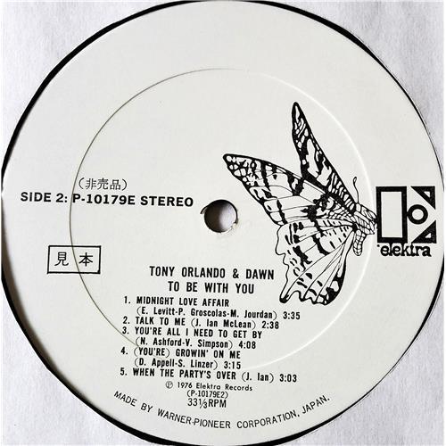 Картинка  Виниловые пластинки  Tony Orlando & Dawn – To Be With You / P-10179E в  Vinyl Play магазин LP и CD   07712 5