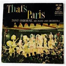 Tony Osborne, His Piano And Orchestra – That's Paris / HW 1065