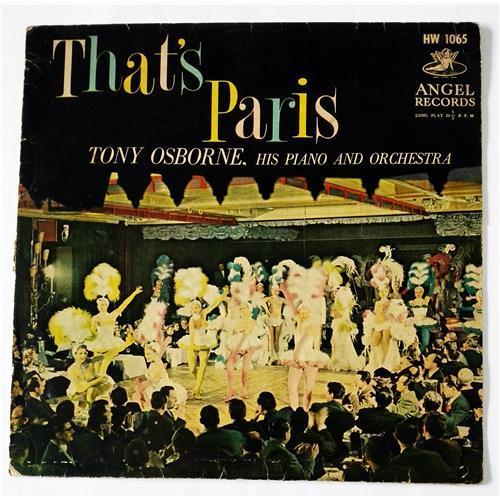 Виниловые пластинки  Tony Osborne, His Piano And Orchestra – That's Paris / HW 1065 в Vinyl Play магазин LP и CD  08536