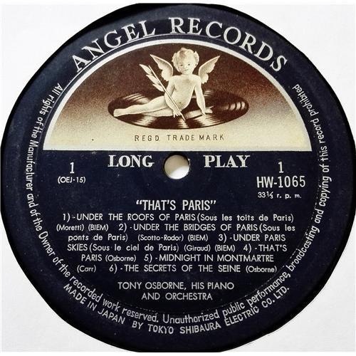 Картинка  Виниловые пластинки  Tony Osborne, His Piano And Orchestra – That's Paris / HW 1065 в  Vinyl Play магазин LP и CD   08536 2