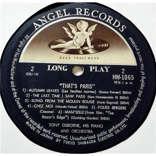 Картинка  Виниловые пластинки  Tony Osborne, His Piano And Orchestra – That's Paris / HW 1065 в  Vinyl Play магазин LP и CD   08536 3
