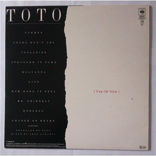 Картинка  Виниловые пластинки  Toto – Isolation / CBS 86305 в  Vinyl Play магазин LP и CD   04386 1