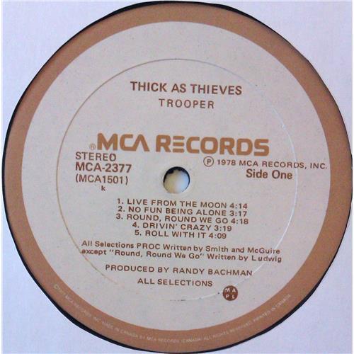 Картинка  Виниловые пластинки  Trooper – Thick As Thieves / MCA-2377 в  Vinyl Play магазин LP и CD   04734 4
