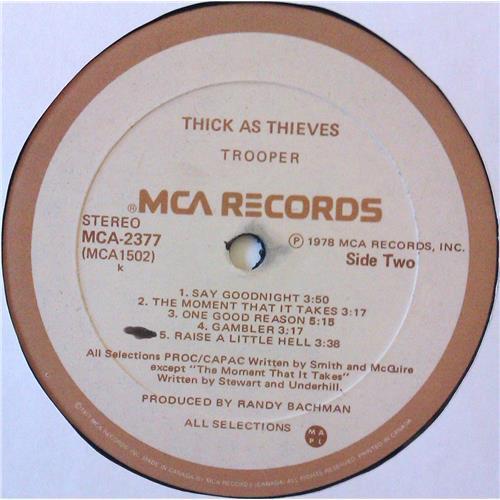 Картинка  Виниловые пластинки  Trooper – Thick As Thieves / MCA-2377 в  Vinyl Play магазин LP и CD   04734 5