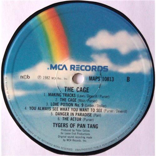 Картинка  Виниловые пластинки  Tygers Of Pan Tang – The Cage / MAPS 10813 в  Vinyl Play магазин LP и CD   04815 5